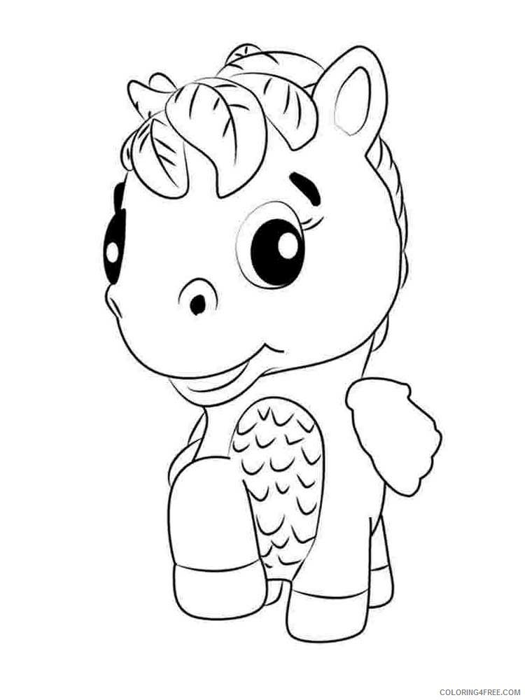 Hatchimals Coloring Pages Hatchimals 13 Printable 2021 3077 Coloring4free