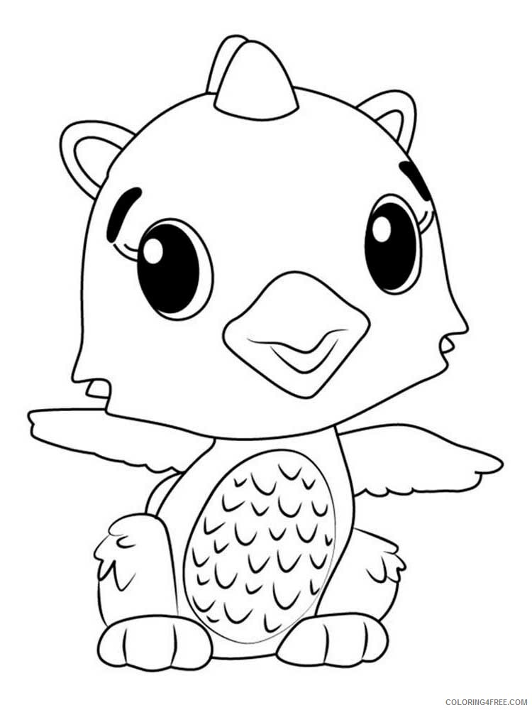 Hatchimals Coloring Pages Hatchimals 19 Printable 2021 3083 Coloring4free