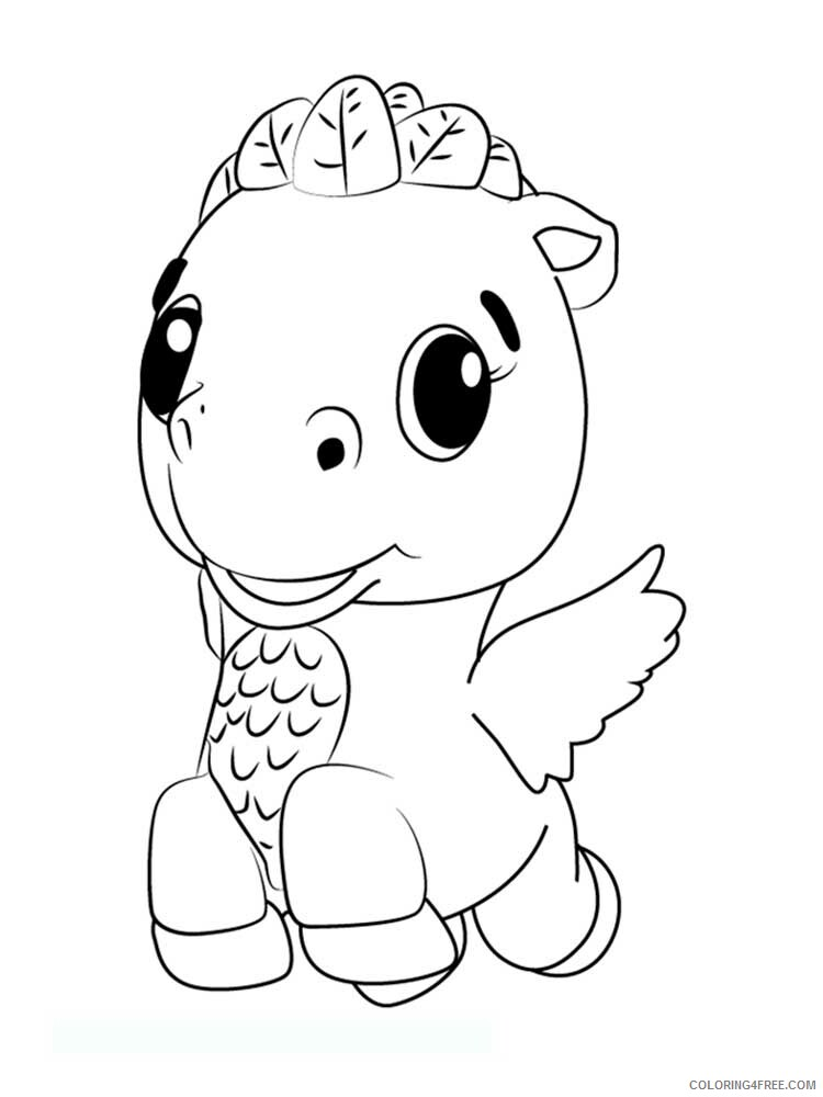 Hatchimals Coloring Pages Hatchimals 7 Printable 2021 3089 Coloring4free