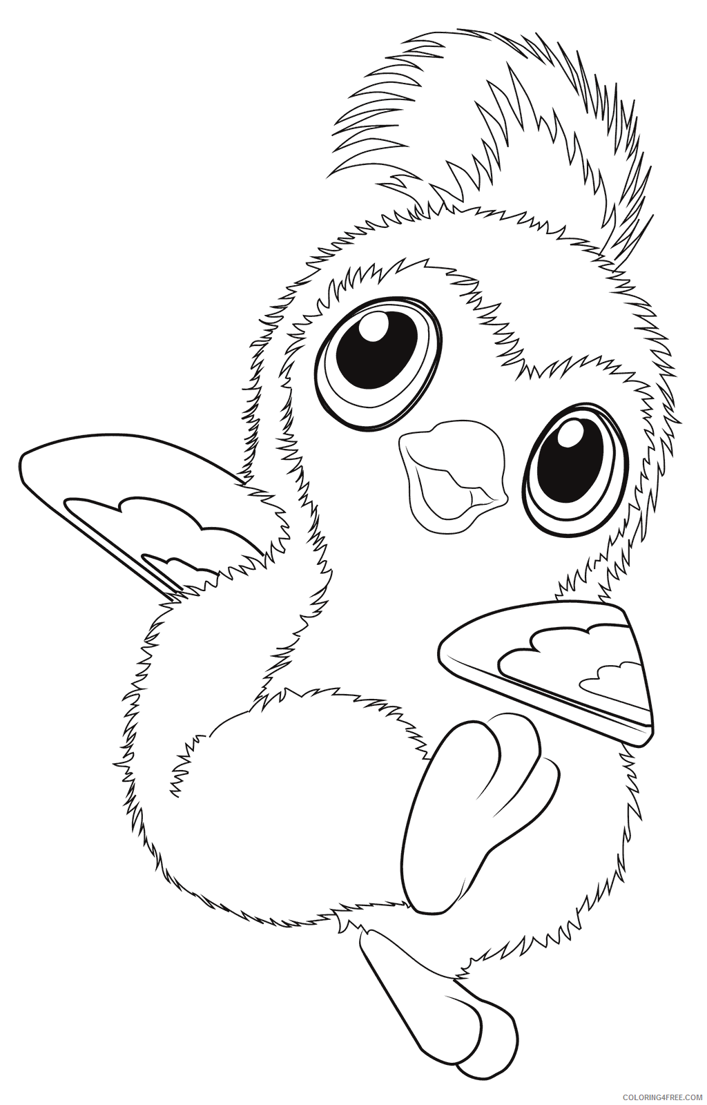 Hatchimals Coloring Pages Hatchimals Penguin Printable 2021 3098 Coloring4free