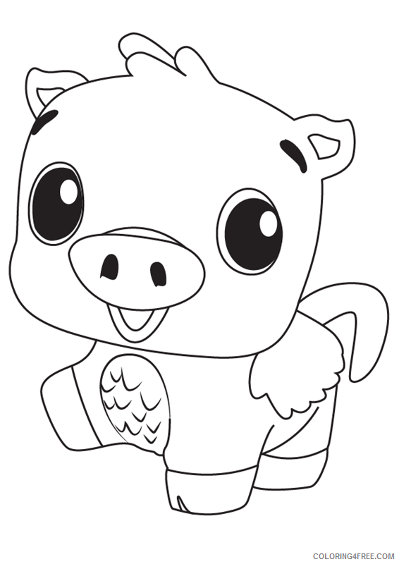 Hatchimals Coloring Pages Hatchimals Pig Printable 2021 3099 Coloring4free