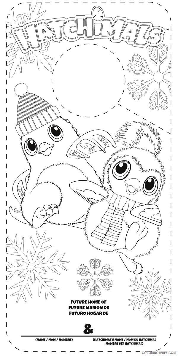 Hatchimals Coloring Pages Hatchimals Printable 2021 3071 Coloring4free