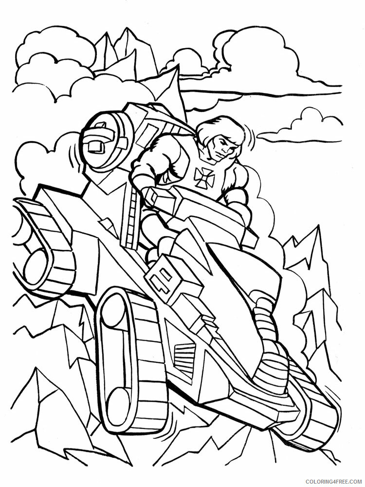 He Man Coloring Pages he man for boys 10 Printable 2021 3259 Coloring4free