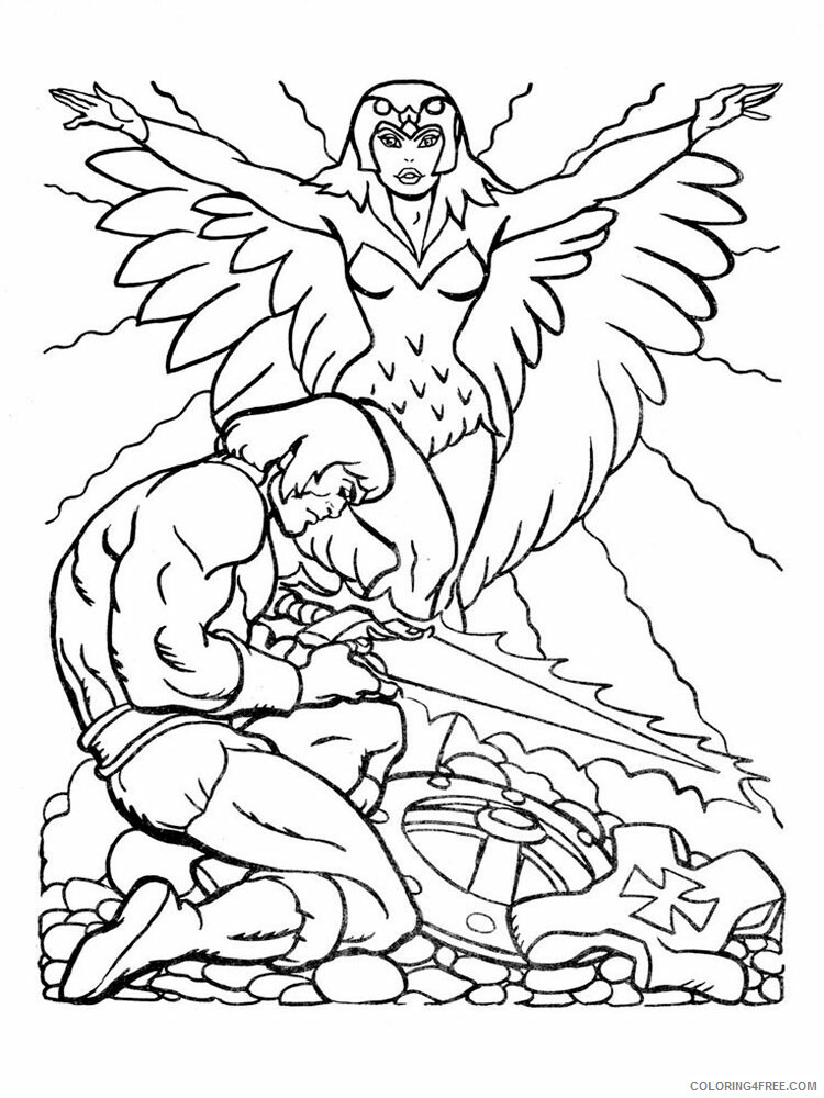 He Man Coloring Pages he man for boys 11 Printable 2021 3260 Coloring4free