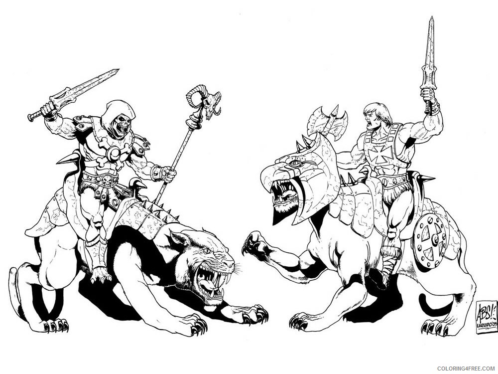 He Man Coloring Pages he man for boys 3 Printable 2021 3266 Coloring4free
