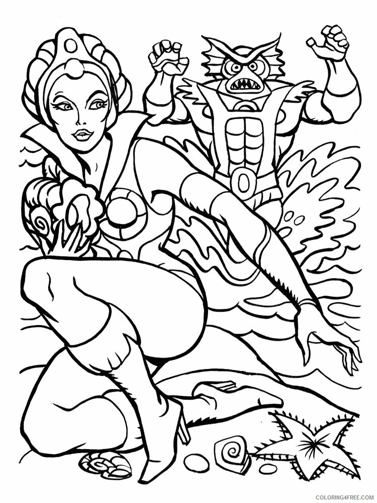 He Man Coloring Pages he man for boys 6 Printable 2021 3268 Coloring4free