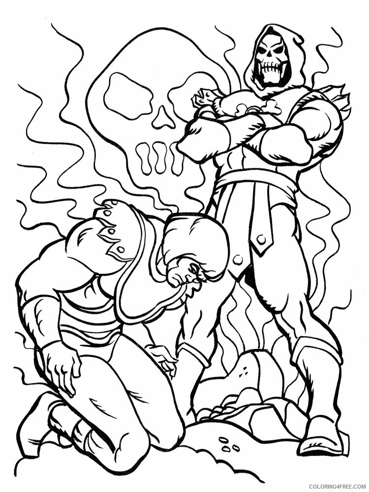 He Man Coloring Pages he man for boys 7 Printable 2021 3269 Coloring4free