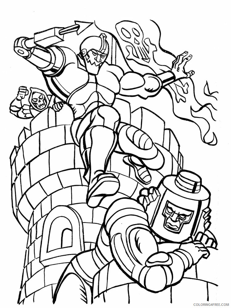 He Man Coloring Pages he man for boys 9 Printable 2021 3271 Coloring4free
