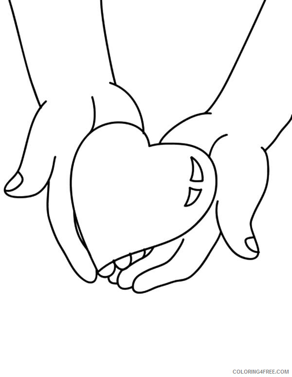Heart Coloring Pages Give You My Heart Printable 2021 3152 Coloring4free