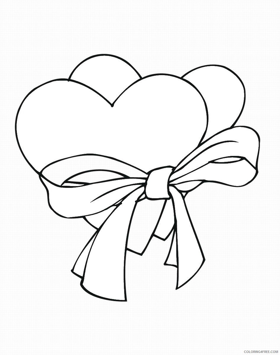 Heart Coloring Pages hearts_cl_13 Printable 2021 3176 Coloring4free