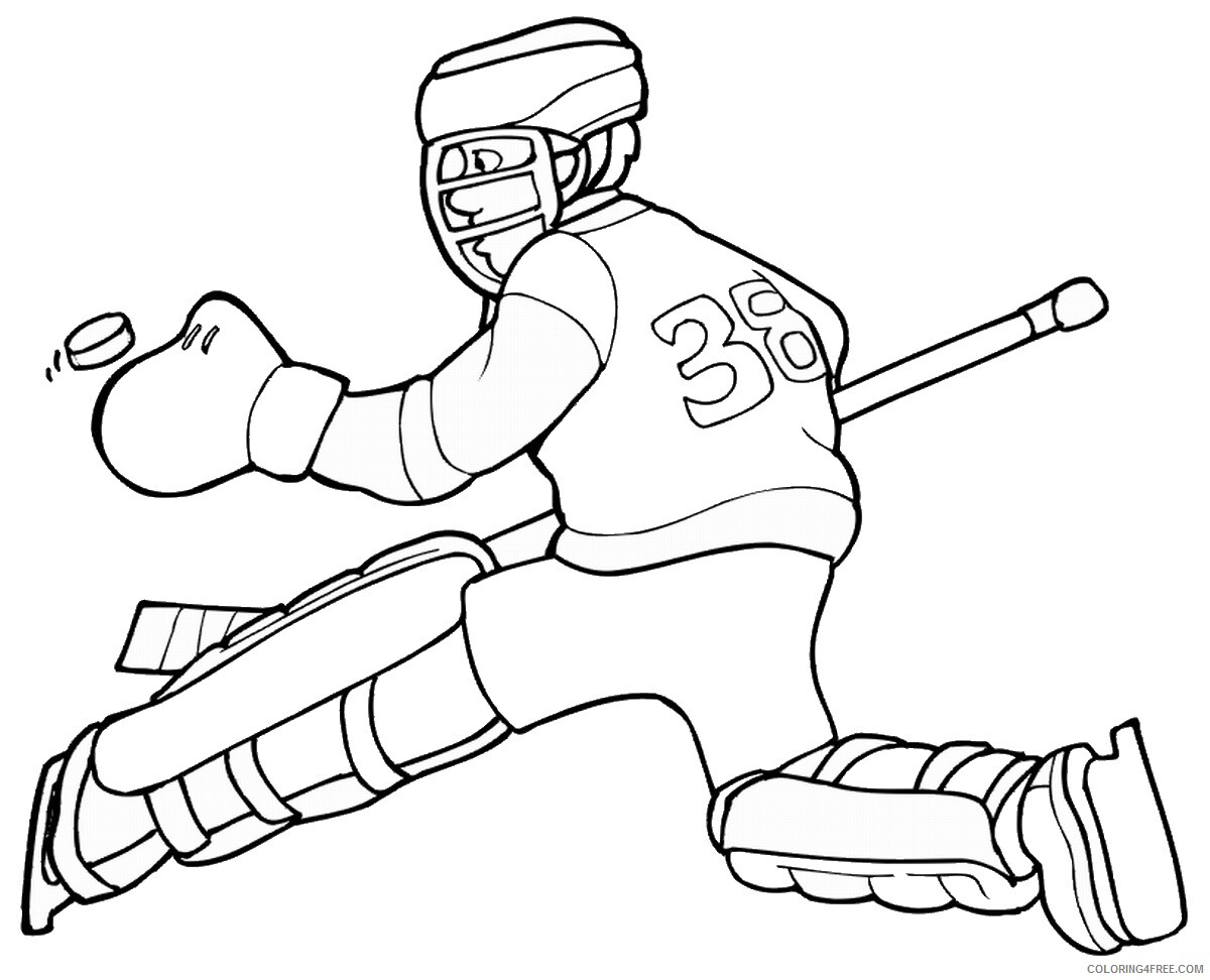 Hockey Coloring Pages hockey_coloring6 Printable 2021 3297 Coloring4free