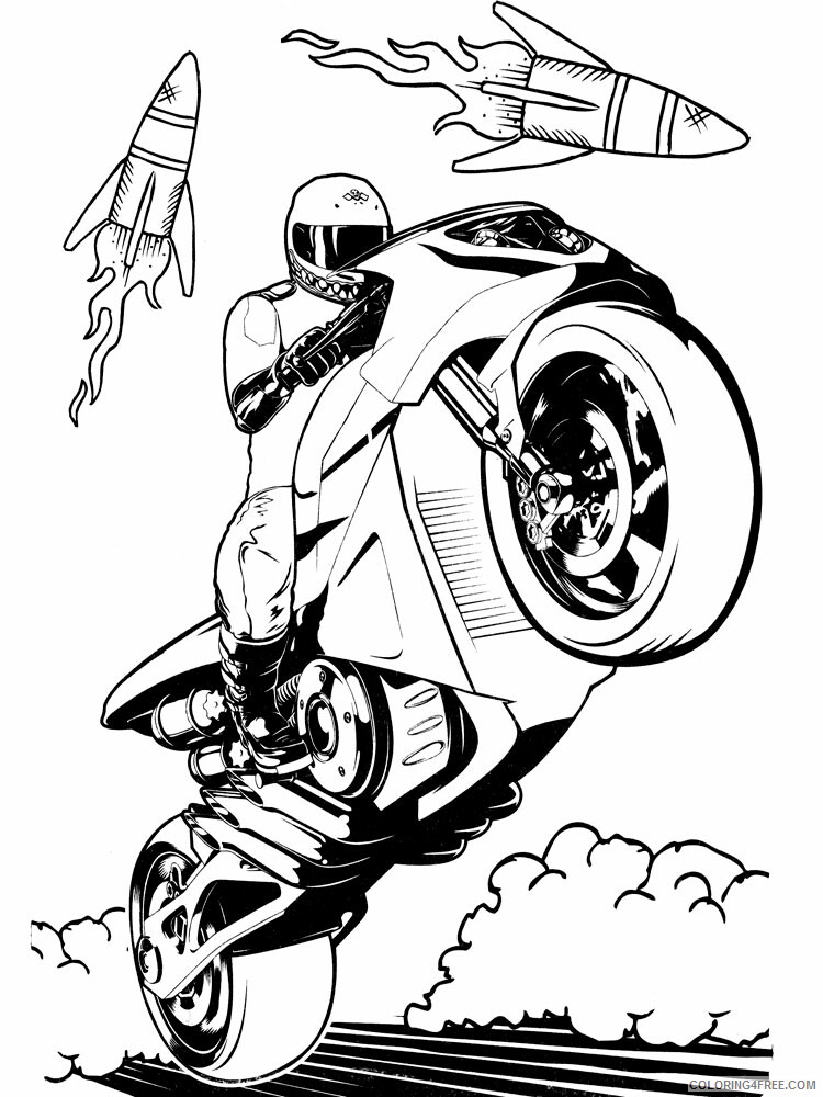 Hot Wheels Coloring Pages Hot Wheels 29 Printable 2021 3425 Coloring4free