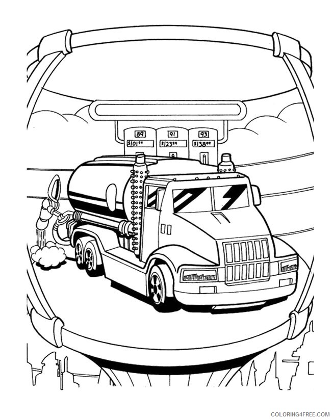 Hot Wheels Coloring Pages Hot Wheels Printable 2021 3448 Coloring4free