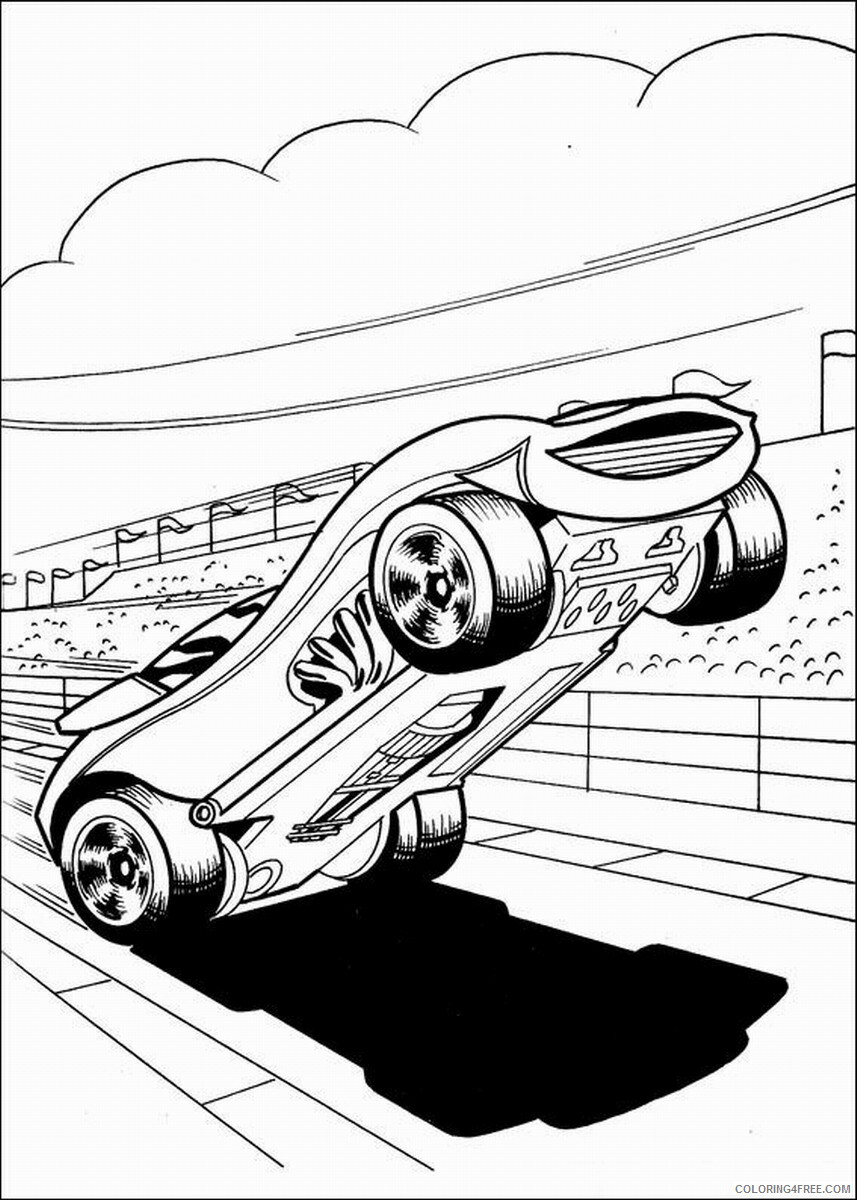 Hot Wheels Coloring Pages hot_wheels_coloring23 Printable 2021 3352 Coloring4free