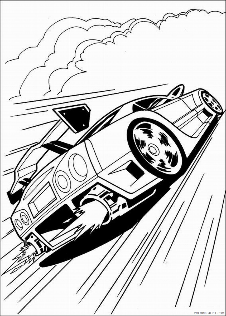Hot Wheels Coloring Pages hot_wheels_coloring6 Printable 2021 3354 Coloring4free