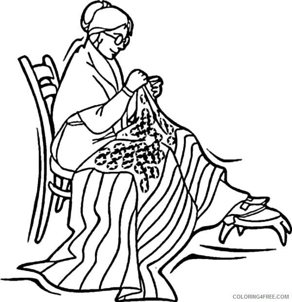 Independence Day Coloring Pages Betsy Ross Sewed Flag Celebration 2021 Coloring4free