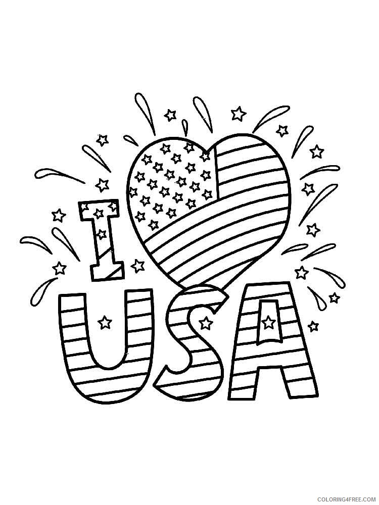 Independence Day Coloring Pages independence day 3 Printable 2021 3520 Coloring4free