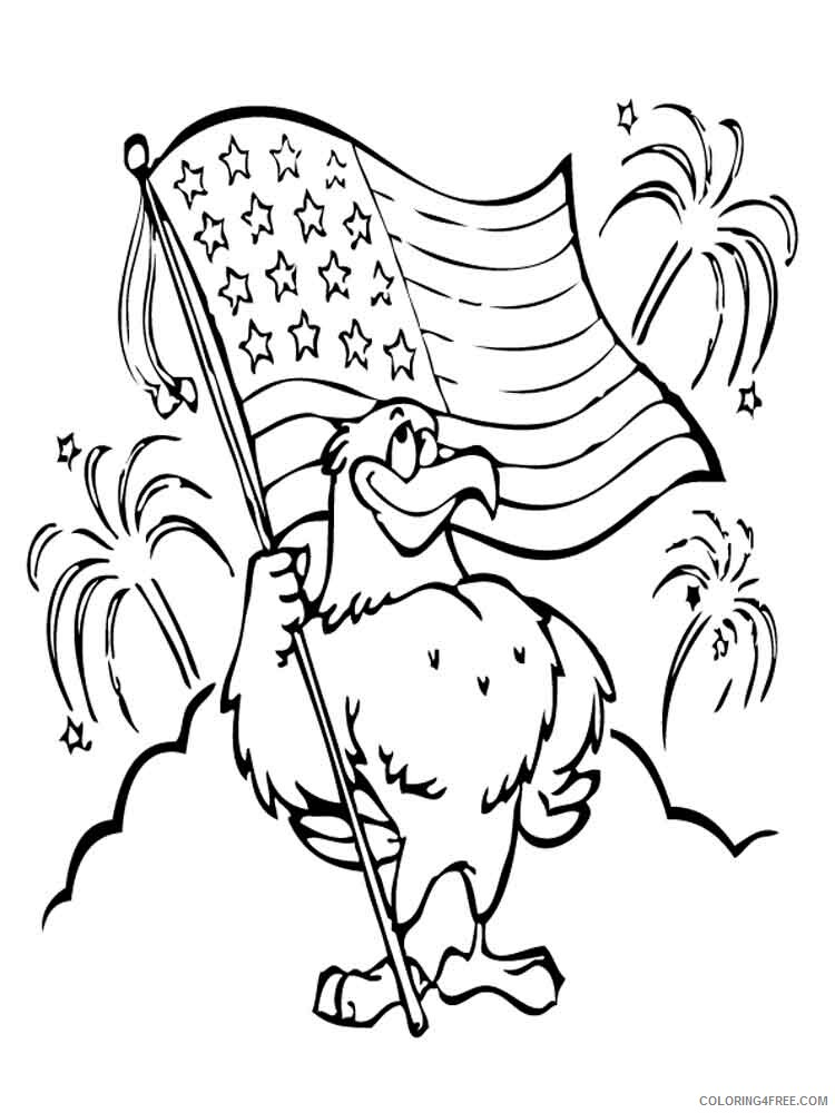 Independence Day Coloring Pages independence day 5 Printable 2021 3522 Coloring4free