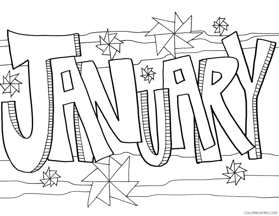 January Coloring Pages January Printable 2021 3559 Coloring4free