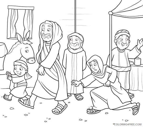 Jesus Coloring Pages Disciples of Jesus Christ Printable 2021 3576 Coloring4free