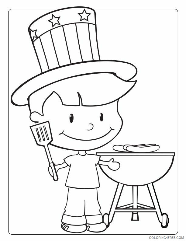 July Coloring Pages Patriotic July Printable 2021 3619 Coloring4free