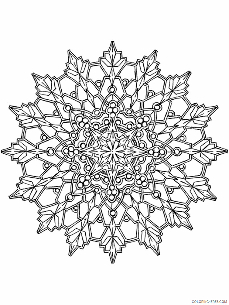 Kaleidoscope Coloring Pages Kaleidoscope 17 Printable 2021 3647 Coloring4free