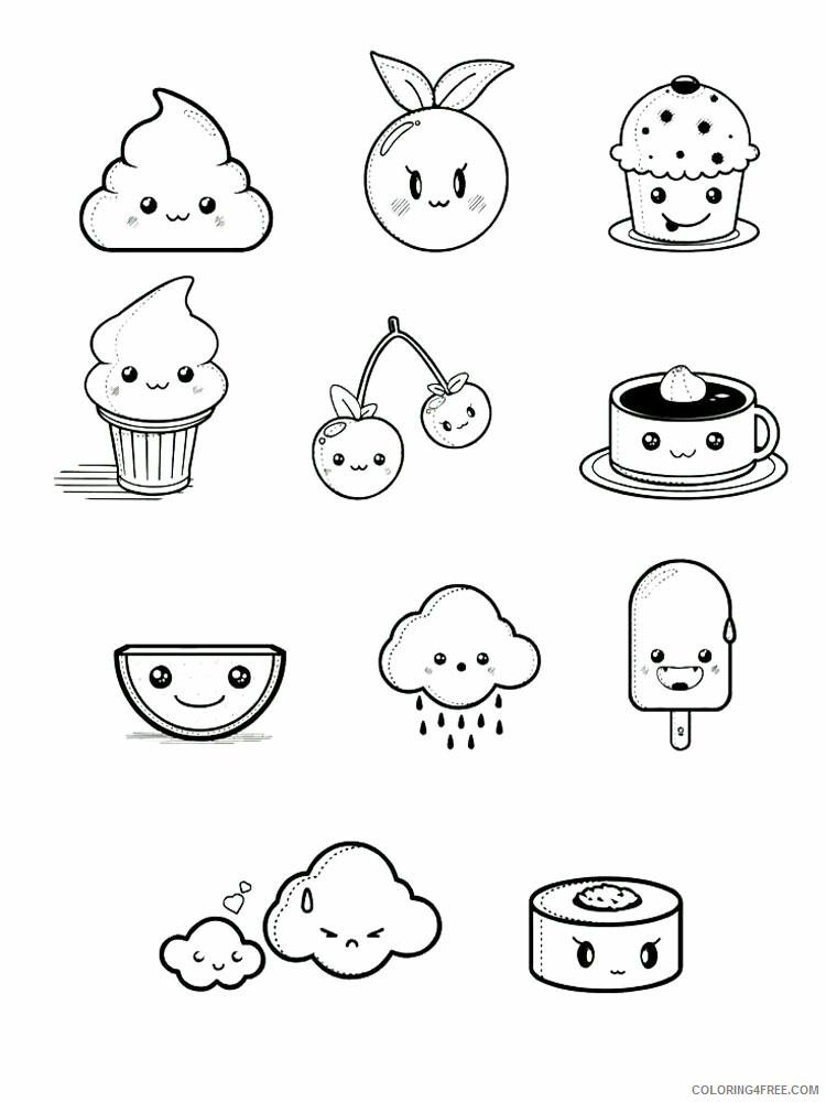 Kawaii Coloring Pages Kawaii 7 Printable 2021 3681 Coloring4free
