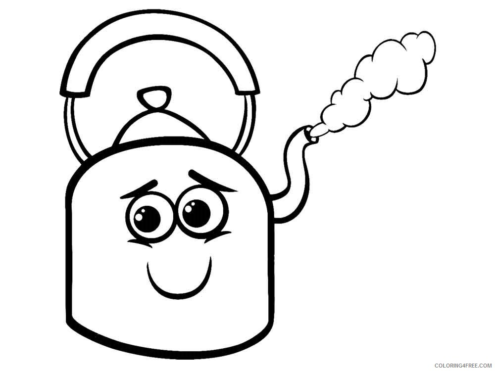 Kettle Coloring Pages kettle 6 Printable 2021 3696 Coloring4free
