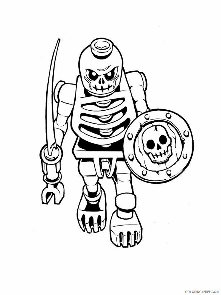 LEGO Bionicle Coloring Pages lego bionicle for boys 9 Printable 2021 3791 Coloring4free