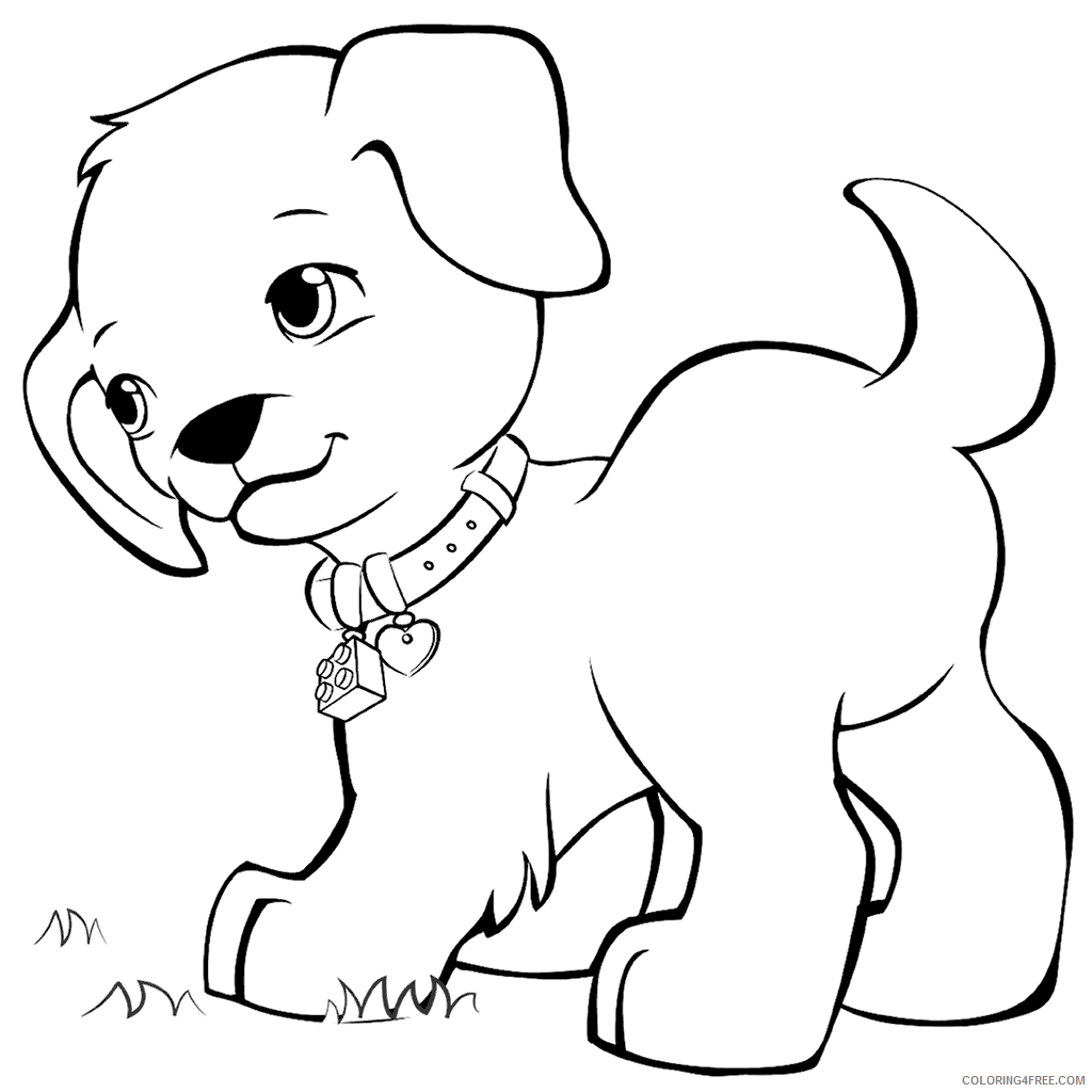 LEGO Friends Coloring Pages Max the Puppy Lego Friends Printable 2021 3805 Coloring4free