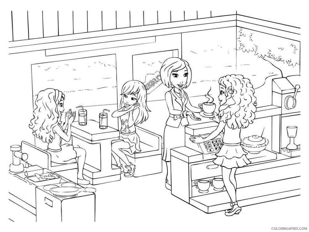 LEGO Friends Coloring Pages lego friends 12 Printable 2021 3795 Coloring4free