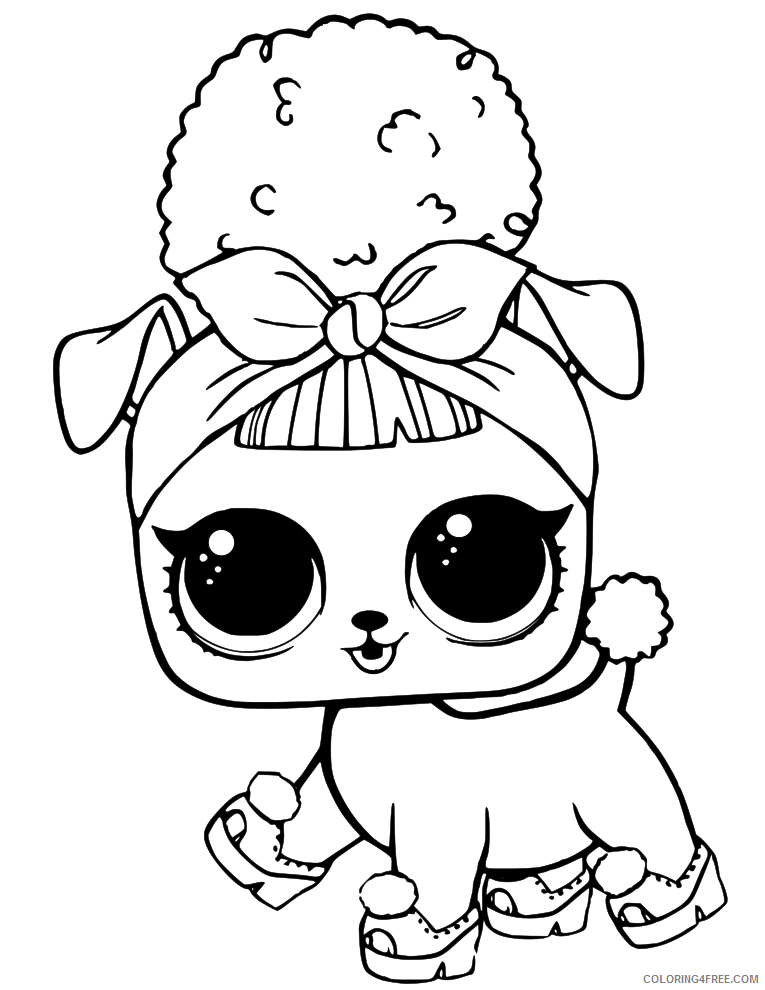 LOL Pets Coloring Pages Free LOL Pets Printable 2021 3888 Coloring4free