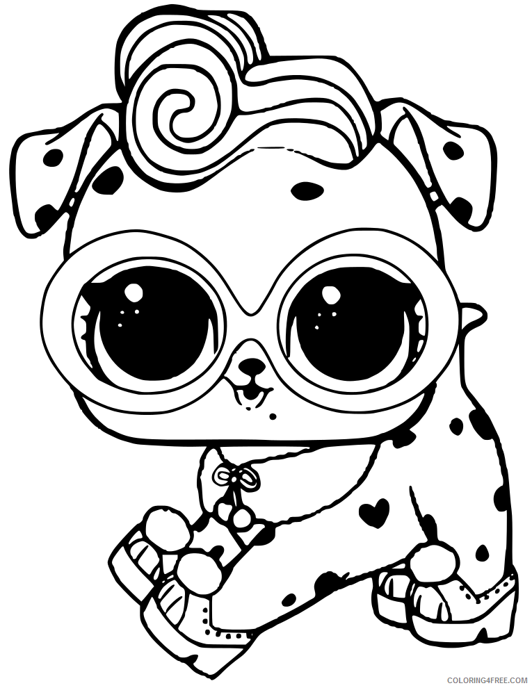 LOL Pets Coloring Pages LOL Pets Printable 2021 3890 Coloring4free