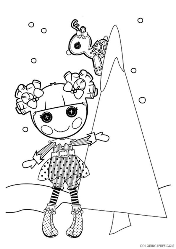 Lalaloopsy Coloring Pages Cute Lalaloopsy Printable 2021 3742 Coloring4free