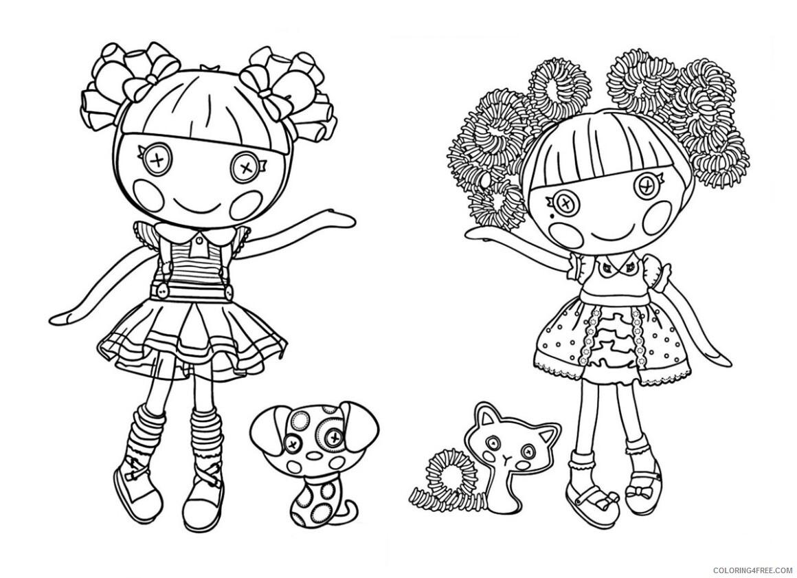Lalaloopsy Coloring Pages Lalaloopsy Characters Printable 2021 3747 Coloring4free