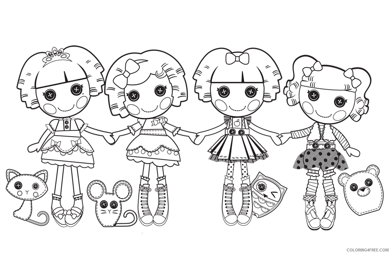 Lalaloopsy Coloring Pages Lalaloopsy Doll Printable 2021 3760 Coloring4free