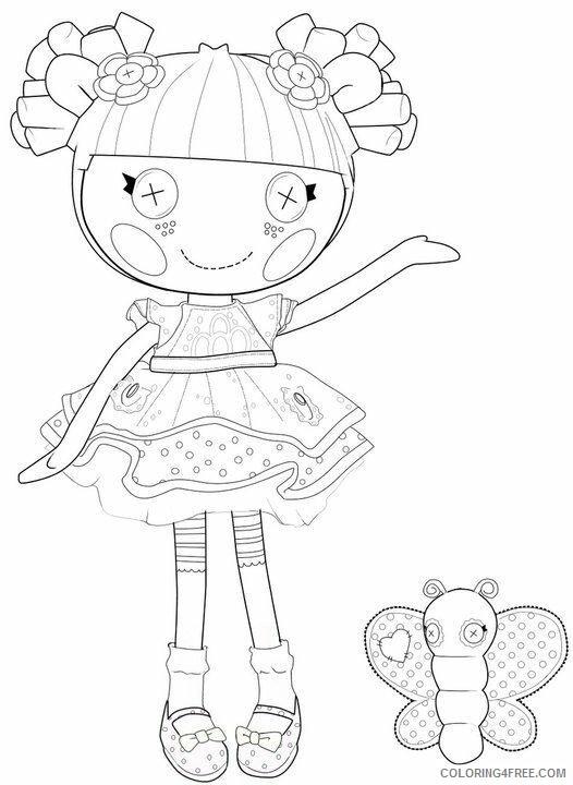 Lalaloopsy Coloring Pages Princess Lalaloopsy Printable 2021 3771 Coloring4free