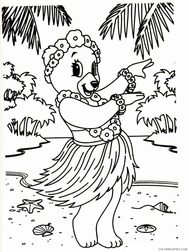 Lisa Frank Coloring Pages lisa frank 9 Printable 2021 3880 Coloring4free