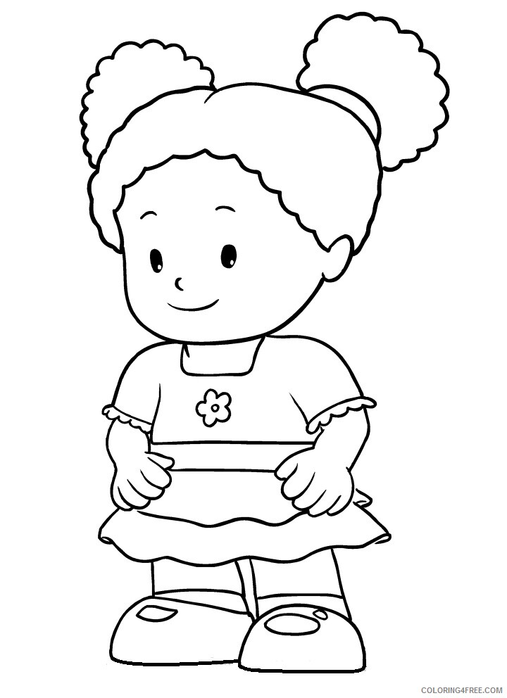 Little People Coloring Pages tessa Printable 2021 3887 Coloring4free