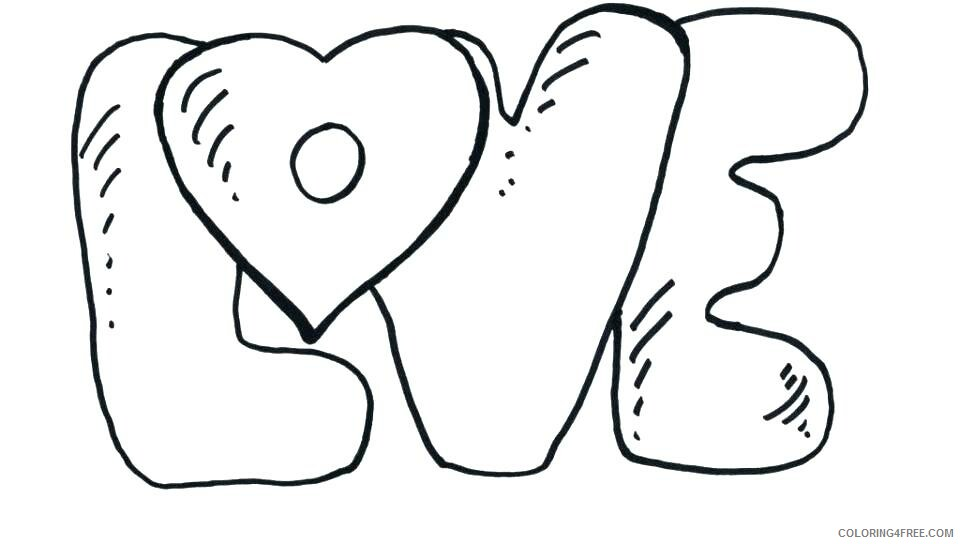 Love Coloring Pages Love Printable 2021 3920 Coloring4free