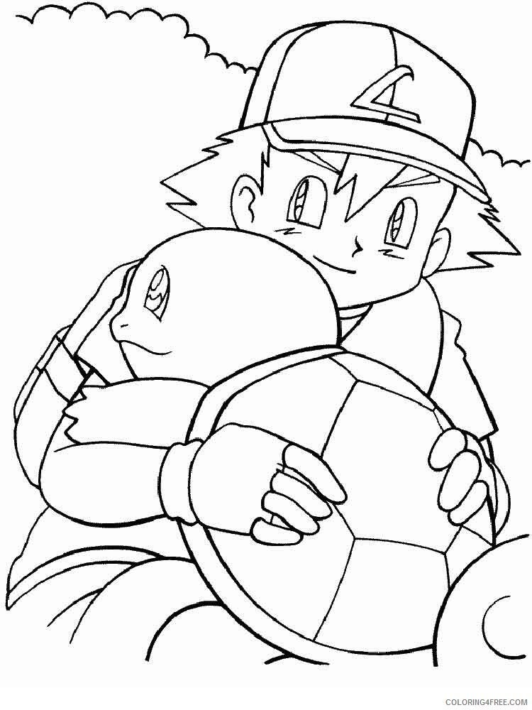 Pokemon Squirtle Coloring Pages Squirtle 5 Printable 2021 4654 Coloring4free Coloring4free Com