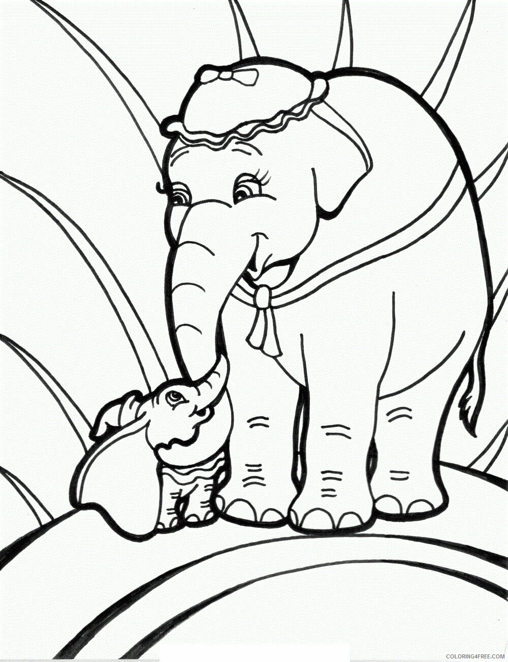 Elephant Coloring Pages Animal Printable Sheets Elmer Elephant ...