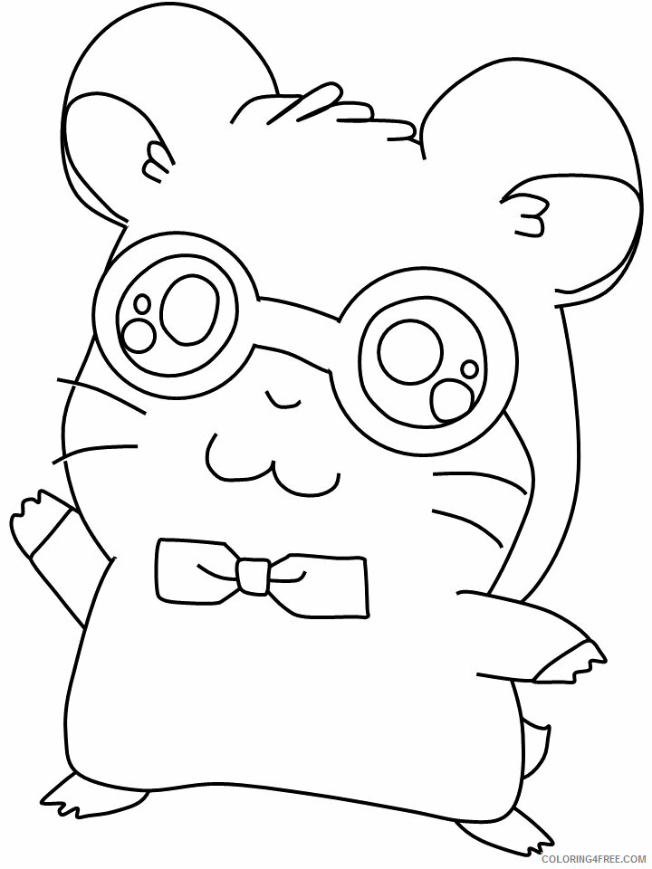 Hamster Coloring Pages Animal Printable Sheets 6 2021 2559 ...