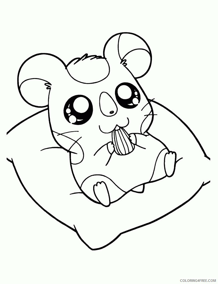 Hamster Coloring Sheets Animal Coloring Pages Printable 2021 2285 Coloring4free