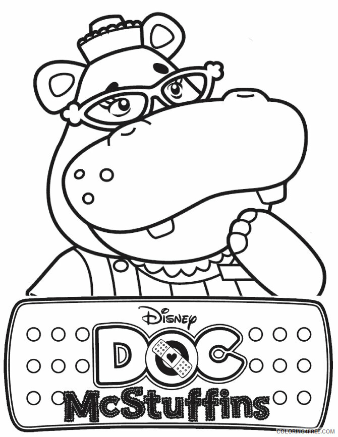 Hippo Coloring Sheets Animal Coloring Pages Printable 2021 2348 Coloring4free