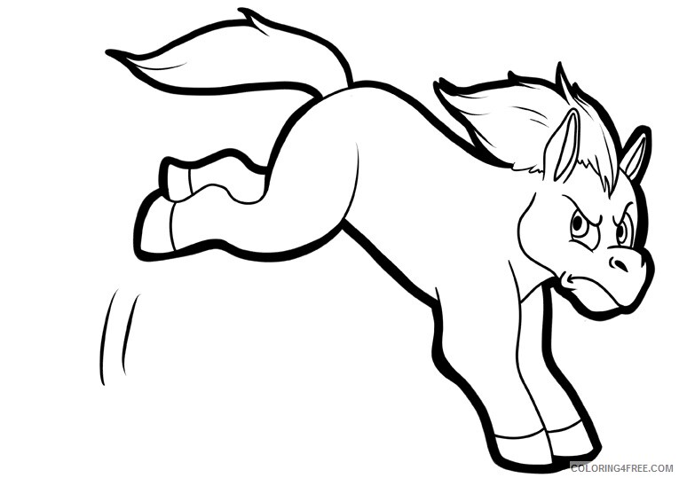 Horse Coloring Sheets Animal Coloring Pages Printable 2021 2369 Coloring4free