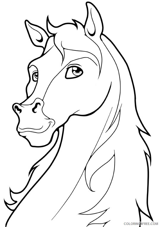 Horse Coloring Sheets Animal Coloring Pages Printable 2021 2399 Coloring4free