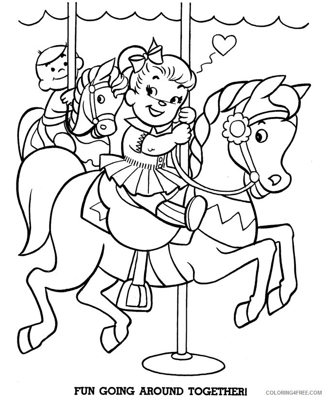 Horse Coloring Sheets Animal Coloring Pages Printable 2021 2451 Coloring4free