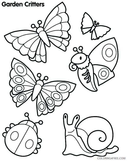 Insect Coloring Pages Animal Printable Sheets Insects 2021 2899 Coloring4free