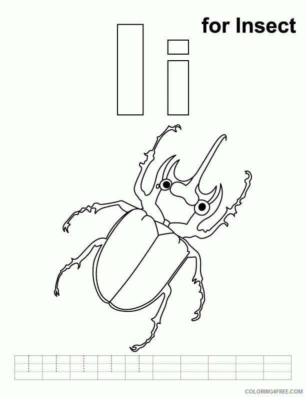 Insect Coloring Sheets Animal Coloring Pages Printable 2021 2557 Coloring4free